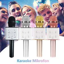 Wireless Bluetooth Karaoke Mikrofon Lautsprecher Handheld Mic Microphone USB