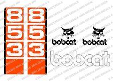 BOBCAT 853 Minipala Set Decalcomania Adesivi