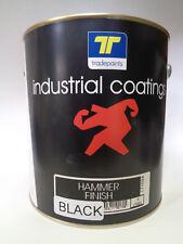 Black Hammertone Brush & Spray Quick Dry 4lt + Free 2mm/n Suct/Gun $115.95 F/D