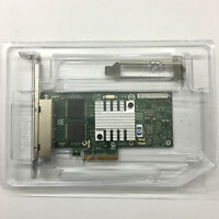 HP NC365T Intel I340-T4 593743-001 593720-001 4Port PCIe 2.0 x4 Ethernet Adapter