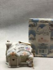"Precious Moments Sugar Town ""God Bless Our House"" 150231 Ornament In Box 1993"