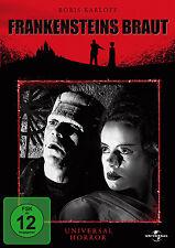 FRANKENSTEINS BRAUT Universal Horror Classic BORIS KARLOFF Frankenstein DVD Neu