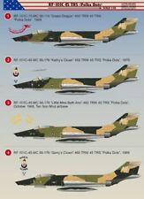 "Print Scale 1/48 McDonnell rf-101c Voodoo trs "" Polka Dots "" #48050"