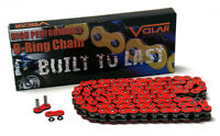 Volar O-Ring Motorcycle Chain - Red for 530 x 102 Links