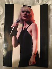 Debbie Harry Blondie Parallel Lines Unposted Postcard Classic Live 1999 Photo