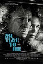 No Time to Die Art Decor Print Movie Poster 36x24 18x12
