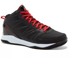 And1 Men's Athletic Guard 2.0 Black Red Basketball Shoes Size 8.5  Medium