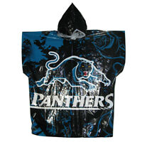 NRL Poncho - Penrith Panthers - Plastic Rain Coat - Rugby League