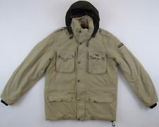 Napapijri 1976 Staff Member Photo Expedition beige stone wash padded jacket M