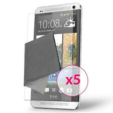 Films de protection Clear HD HTC One (M7) Lot de 5