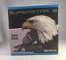 Superstar AM/FM 10 Meter CB Mobile Radio