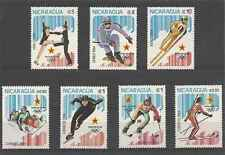 Timbres Sports d'hiver JO Nicaragua 1315/8 PA1050/2 ** lot 3712