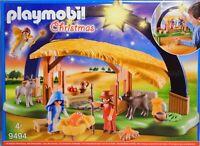 Playmobil 9494 Weihnachtskrippe Lichterbogen Maria Josef Jesus Eselchen Kalb NEU