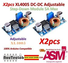 2pcs XL4005 Step Down Adjustable Power Supply Module LED Lithium Charger Board