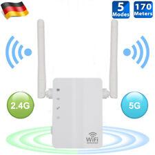 DHL Wireless WiFi WLAN Repeater Verstärker Extender Router 300Mbps mit 2 Antenne