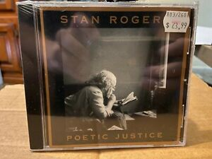Stan Rogers Poetic Justice CD two radio plays on CBS new sealed Canadian folk