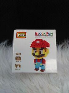 iBlock Fun LOZ Diamond Block 9338 Mario Bricks, 160 Pieces