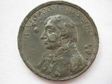 1805 Nelson death medal 39mm white metal Eimer 965