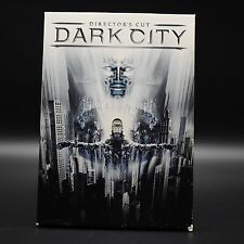 Dark City Dvd(Directors Cut)Rufus Sewell,William Hurt,Kiefer Sutherland,Like New