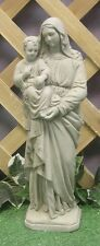 Blessed Virgin Mary With Jesus Latex Fiberglass Production Mold Concrete Plaster