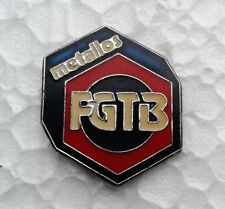Pin's Metallos FGTB