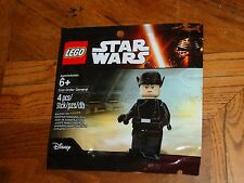 2016 LEGO MINIFIGURE POLYBAG FIRST ORDER GENERAL PROMOTIONAL 6142163 BRAND NEW