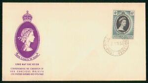 MayfairStamps Pitcairn Islands 1953 Coronation Queen Elizabeth II Royalty Cover