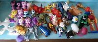 McDonalds Happy Meal AND Fast food Toys Lot of 30+ USED PLAYED CONDITION