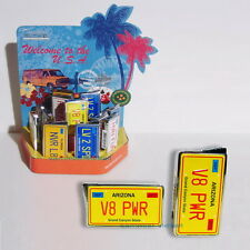 Elektronisches Gas Feuerzeug ARIZONA Autokennzeichen USA Nummernschild  NEU OVP