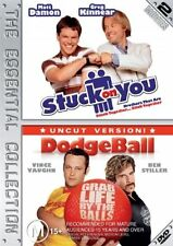 Stuck On You / DodgeBall (DVD, Region 4) - Brand New, Sealed