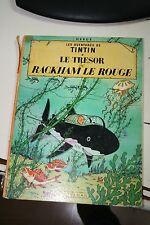 TINTIN Le Trésor de Rackham le Rouge Hergé