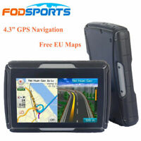 "4.3"" LCD Touch Car Motorcycle GPS Navigation System 8GB Truck SAT NAV + Free Map"