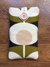 HANDMADE IPHONE 5 5s 5c SE CASE MADE IN ORLA KIELY SEAGRASS OVAL FLOWER FABRIC