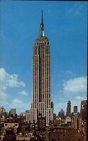 New York City USA Amerika ~1960/70 Blick auf das Empire State Building Hochhaus