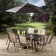 PAGODA Glass Garden & Patio Furniture Sets