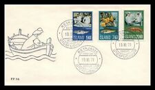 Iceland 1971 FDC, Fishing Industry. Lot # 3.
