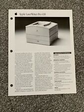 Apple LaserWriter Pro 630 Sales Flyer