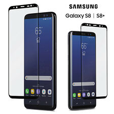 Premium Full Cover Tempered Glass Screen Protector for Samsung Galaxy S8/S8 Plus