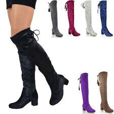 Mid (1.5-3 in.) Formal Faux Suede Women's Heels