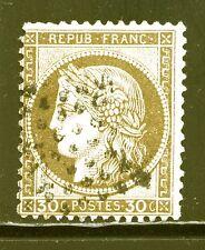 FRANCE  N° 56 ETOILE MUETTE, sans défaut caché, FOND LIGNE, TB