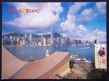 Hong Kong Island Roof of Cultural Centre Ski Slope Postcard (P252)