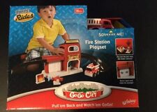 Kid Galaxy - GoGo City Fire Station Playset My First Rides Fire Truck Play Set