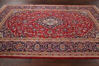 Excellent Traditional Floral Room Size Red Ardakan Area Rug Hand-made Wool 6x10