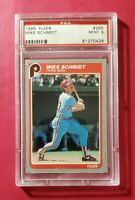 1985 Fleer #265 MIKE SCHMIDT (Philadelphia Phillies HOF) **PSA 9 (MINT)** WOW!!!