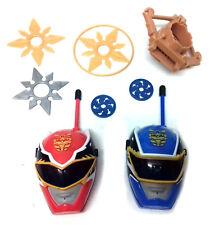 Power Rangers Samurai Gaceta Juguetes, radios, arrojando Stars & juego lanzador de disco
