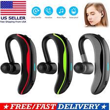 New listing Wireless Bluetooth Earpiece Headset Earphone w/ Mic for Samsung Huawei Motorola
