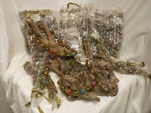 JOB LOT X 25 NEW QUALITY GLASS & RESIN BEAD NECKLACES FASHION JEWELRY RRP £12.99