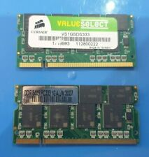 2GB CORSAIR VALEO (2x 1gb) sodimm DDRII RAM MEMORY PC2 DDR2 for Laptop