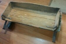 VINTAGE BUCKBOARD WAGON HORSE DRAWN BUGGY CARRIAGE SEAT ANTIQUE PRIMATIVE