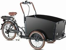 Electric Bakfiets E-Troy Cargo Family Bike 7 speed Shimano 4 seats bakfeetz New